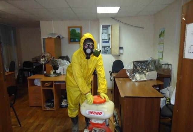 Обработка офисного помещения от клопов и тараканов