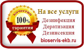 Биосервис гарантия на дезинсекцию