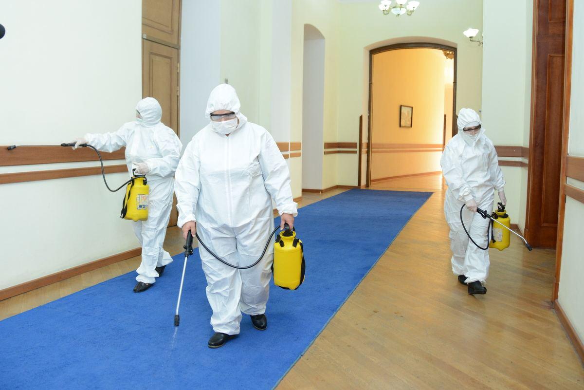 Для дезинфекции от коронавируса помещение лучше подготовить
